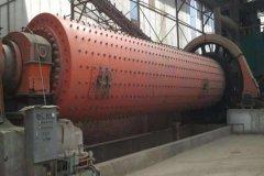 湖南张家界日产400吨石英砂球磨机